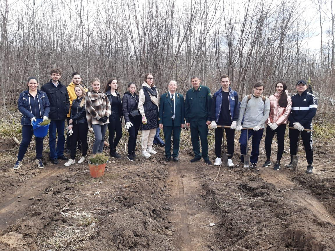 В Мордовии прошла акция «Сад памяти»