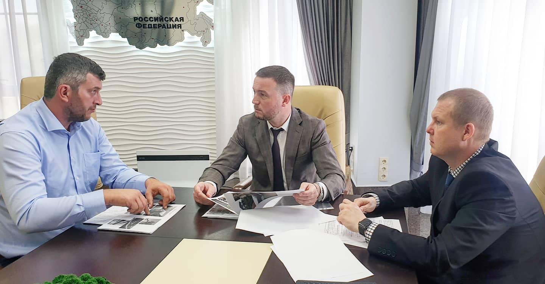 Тимур Татьянченко провел рабочую встречу с руководством Минприроды Краснодарского края