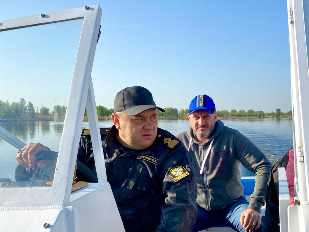 Юрий Бажуткин принял участие в инспекционном рейде против браконьеров