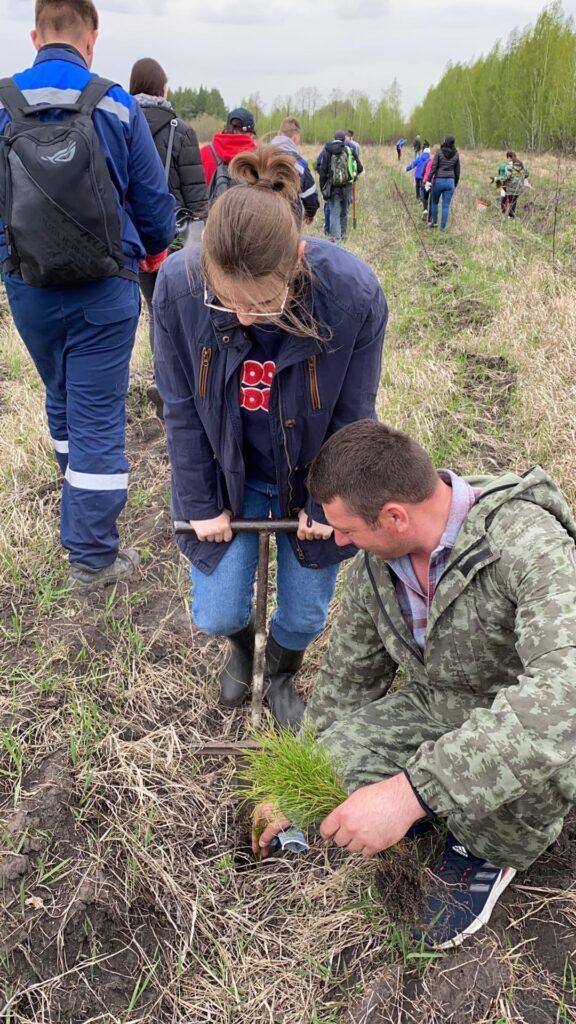 Пензенское отделение Российского экологического общества приняло участие в акции «Сад памяти»