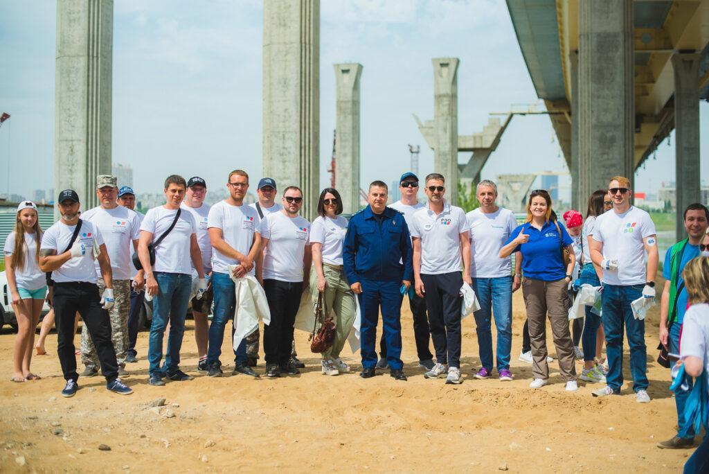 Активисты Волгоградского отделения Российского экологического общества приняли участие в праздновании Дня Волги
