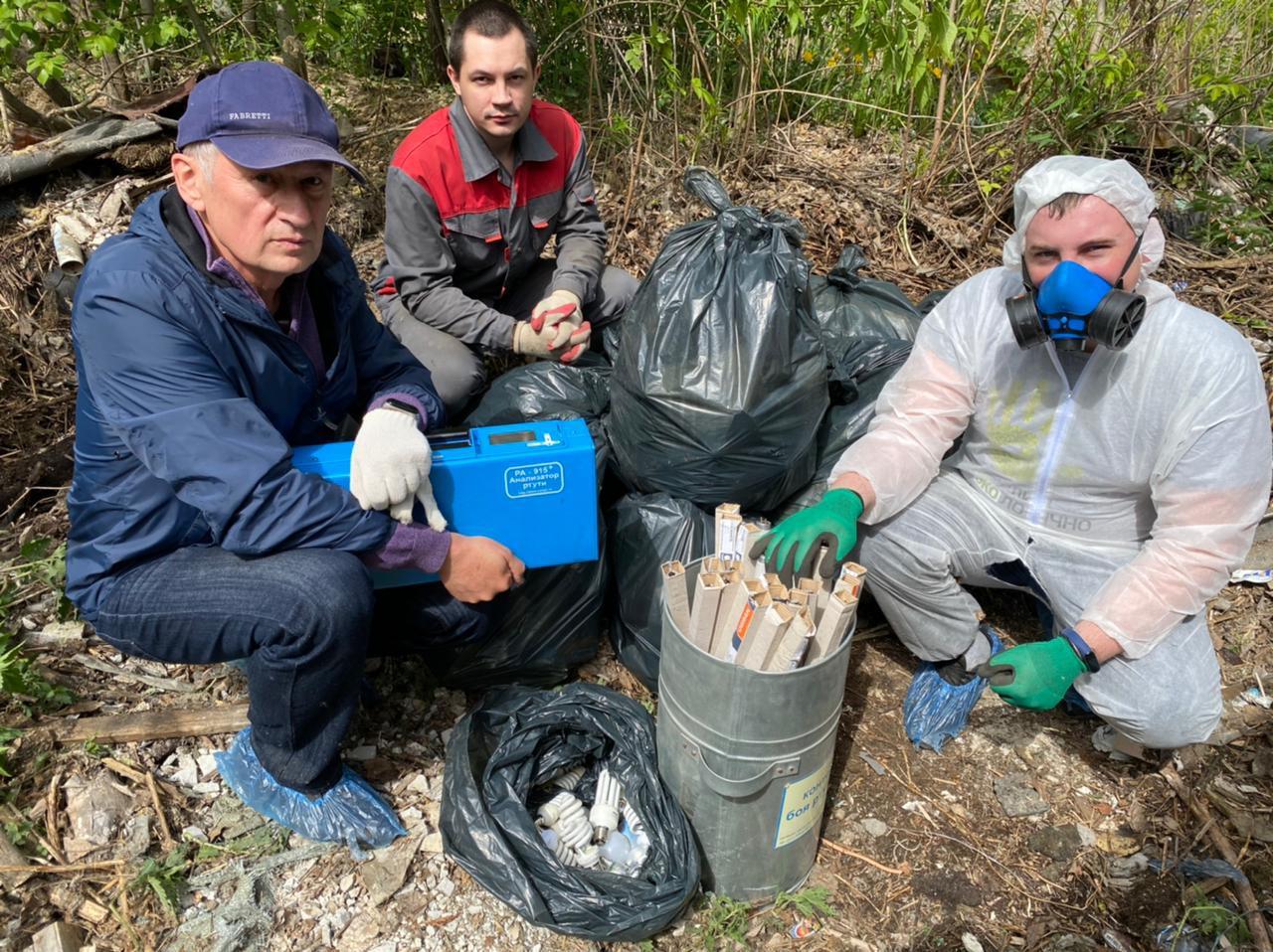 Опасные отходы обнаружены в Екатеринбурге