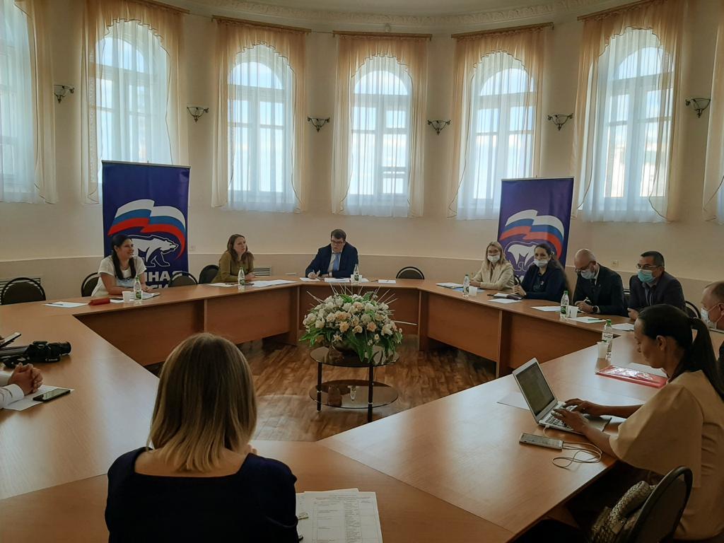 В Саранске прошло заседание Общественного совета проекта «Чистая страна» Партии «Единая Россия»
