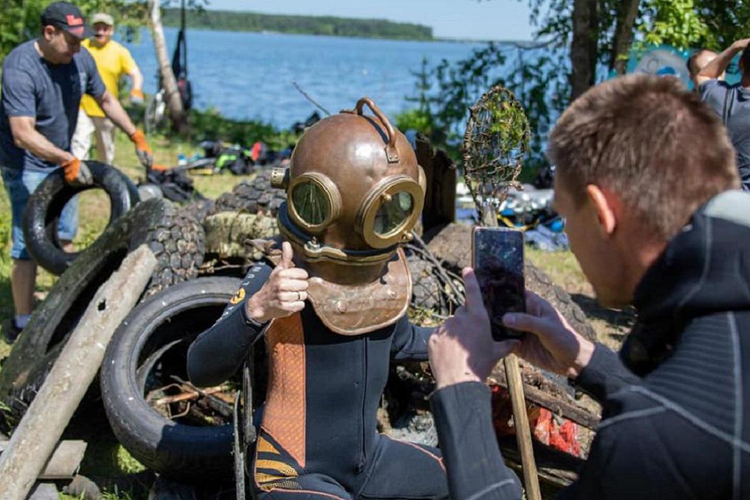 Под Екатеринбургом прошёл подводный субботник