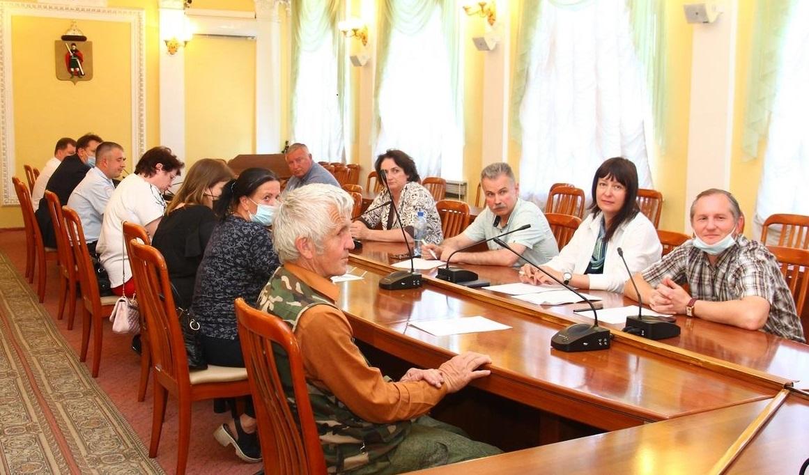 Виолетта Черная приняла участие в комиссии по формированию комфортной городской среды
