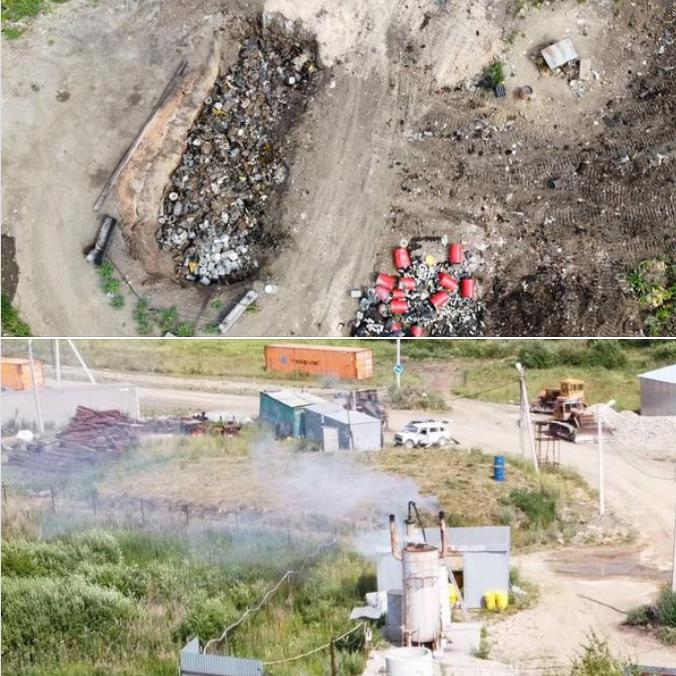 Эксперты Свердловского отделения Российского экологического общества зафиксировали нарушения экологического законодательства