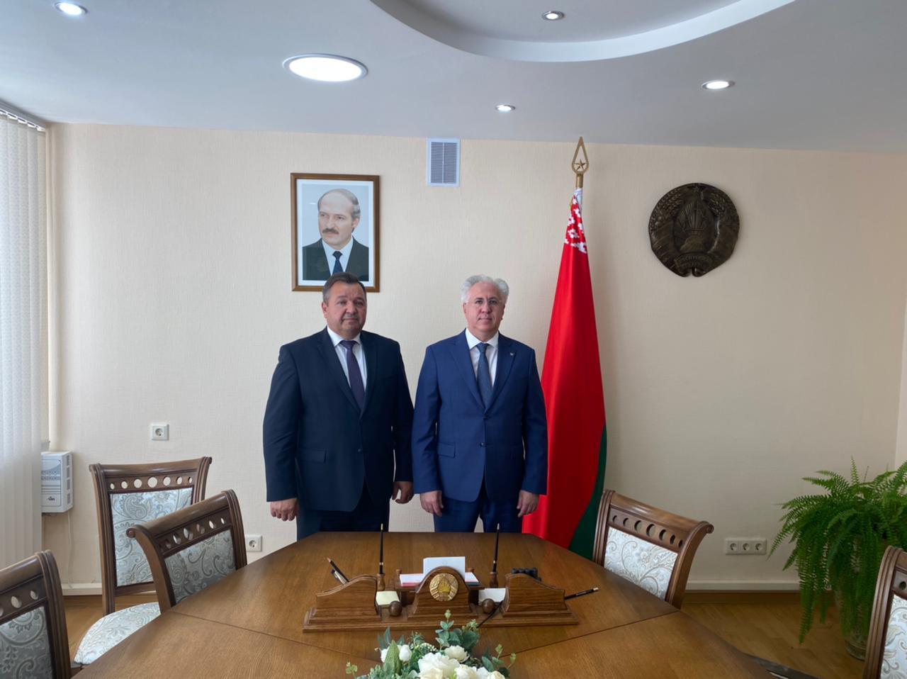 Состоялся официальный визит делегации Российского экологического общества в Республику Беларусь