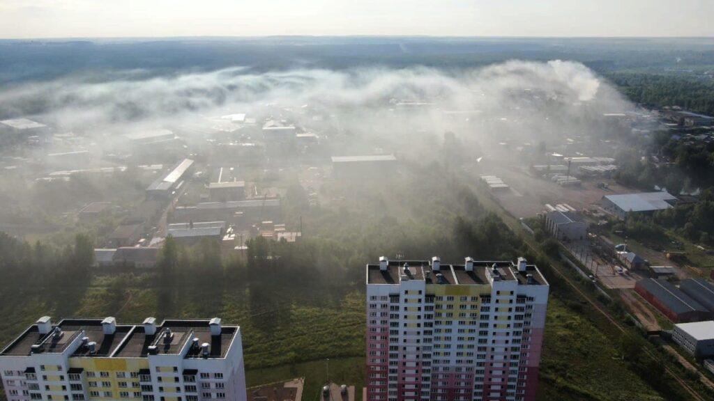 В Кировской области создадут систему мониторинга атмосферного воздуха