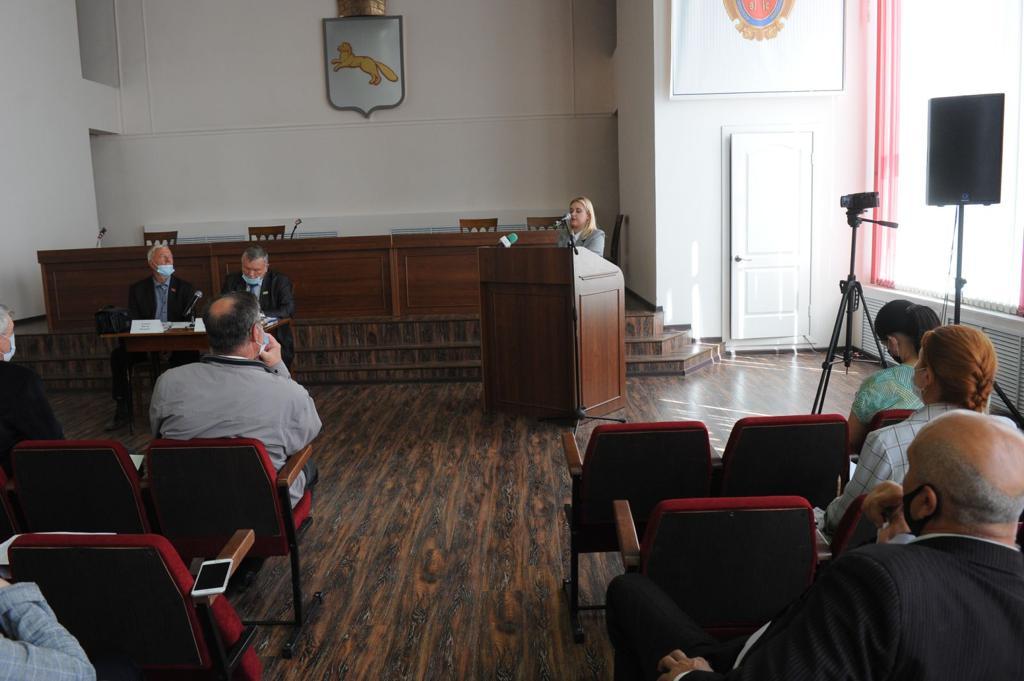 Курганское региональное отделение Российского экологического общества инициировало проведение заседания Общественной палаты города Шадринска