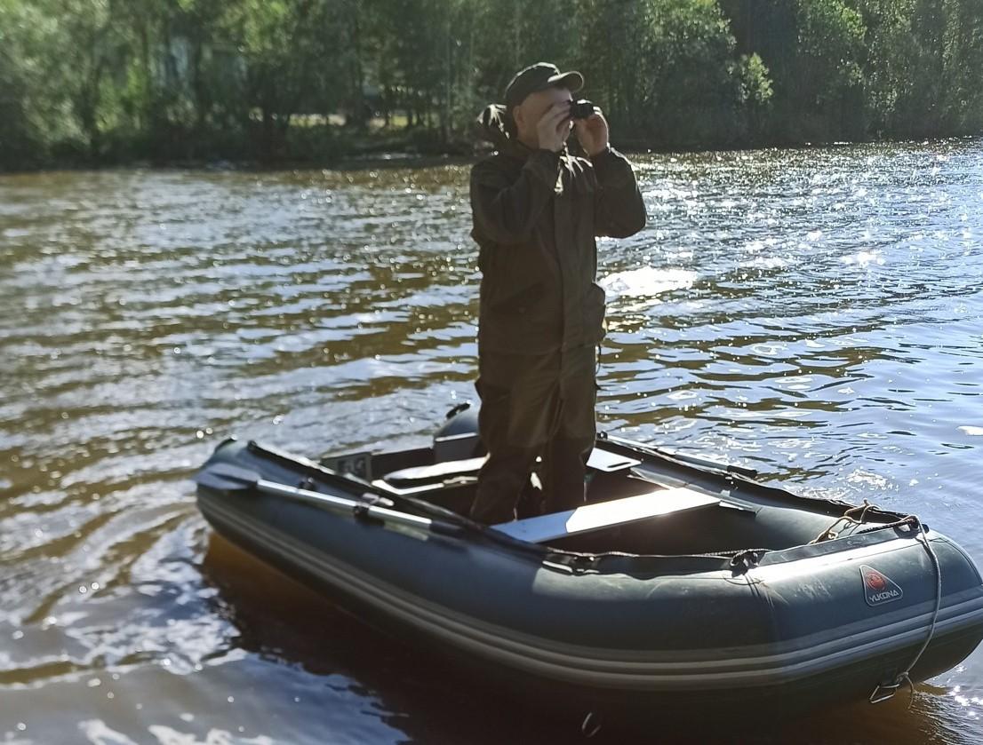 Активисты Свердловского РЭО очищают природный памятник «Шиловский пруд» от нелегальных свалок