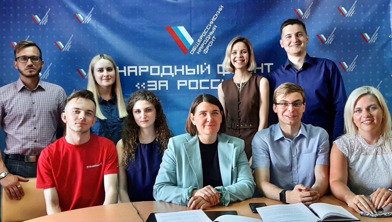 Представители Российского экологического общества Пензенской области встретились с сенатором от региона Юлией Лазуткиной