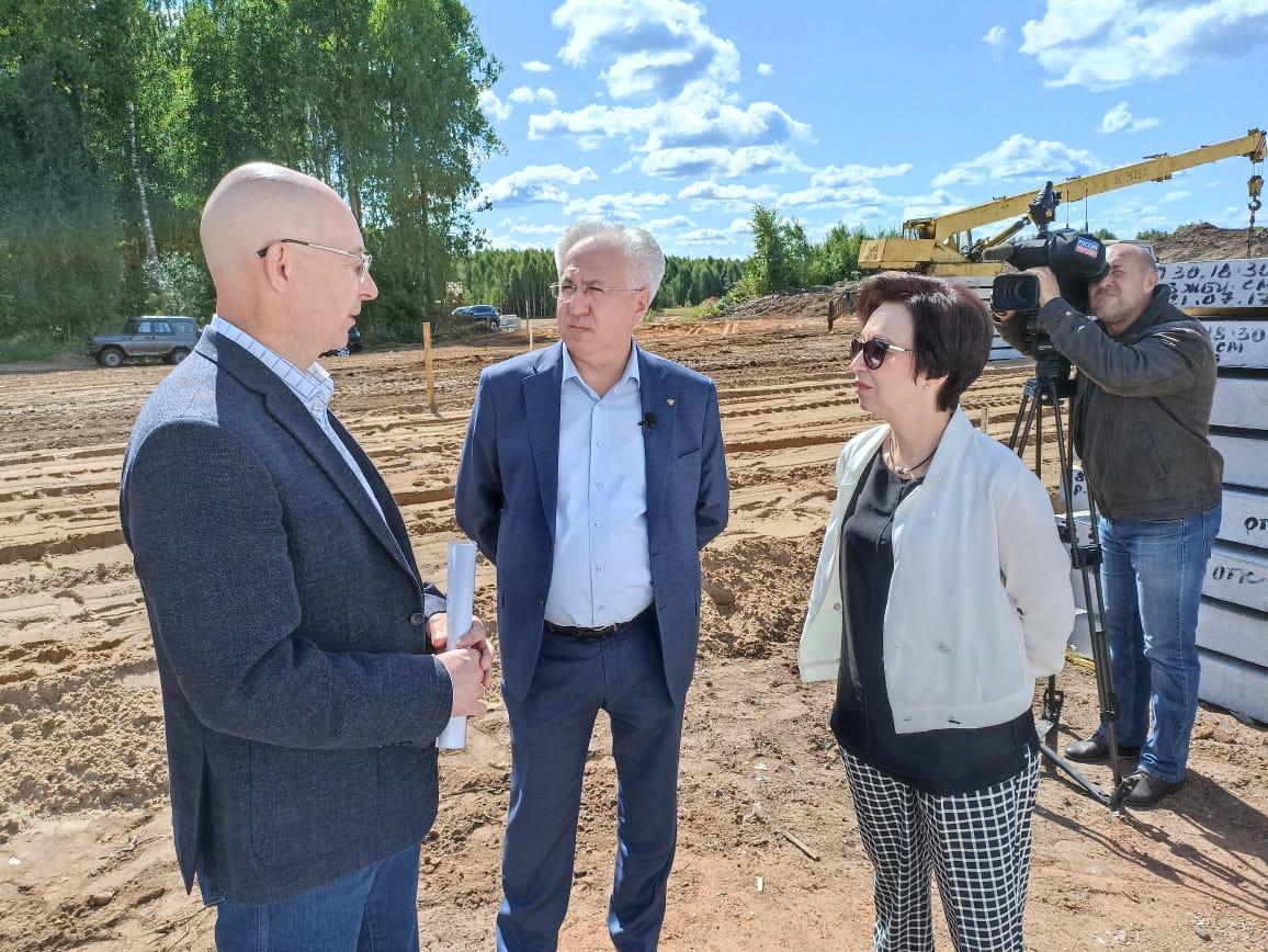 Кировское отделение Российского экологического общества берет под контроль строительство объекта обращения ТКО