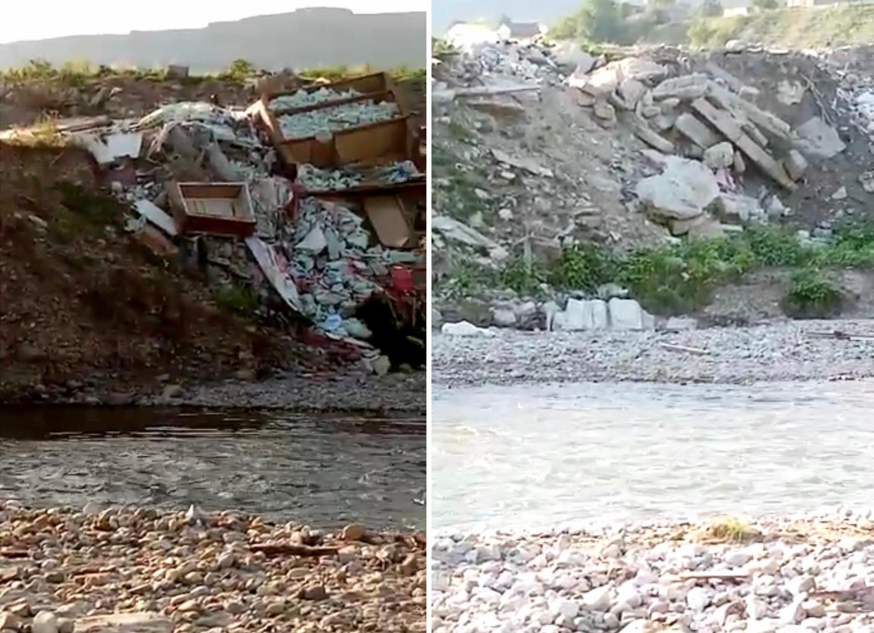 Власти Предгорного округа разбираются в ситуации с загрязнением реки Подкумок