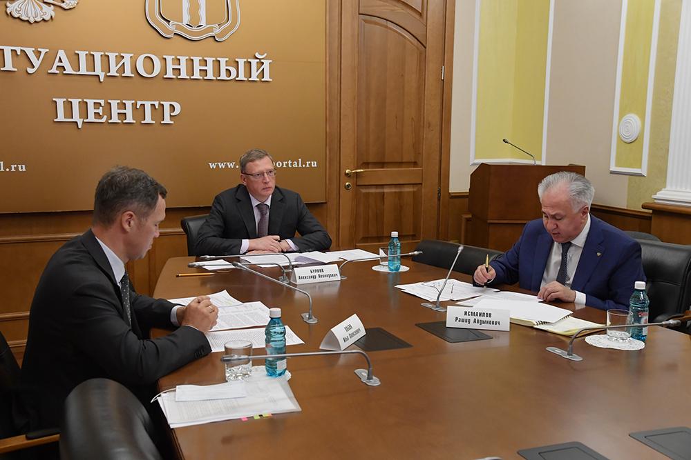 В Омске прошло очередное заседание Экспертного совета при Губернаторе по экологии