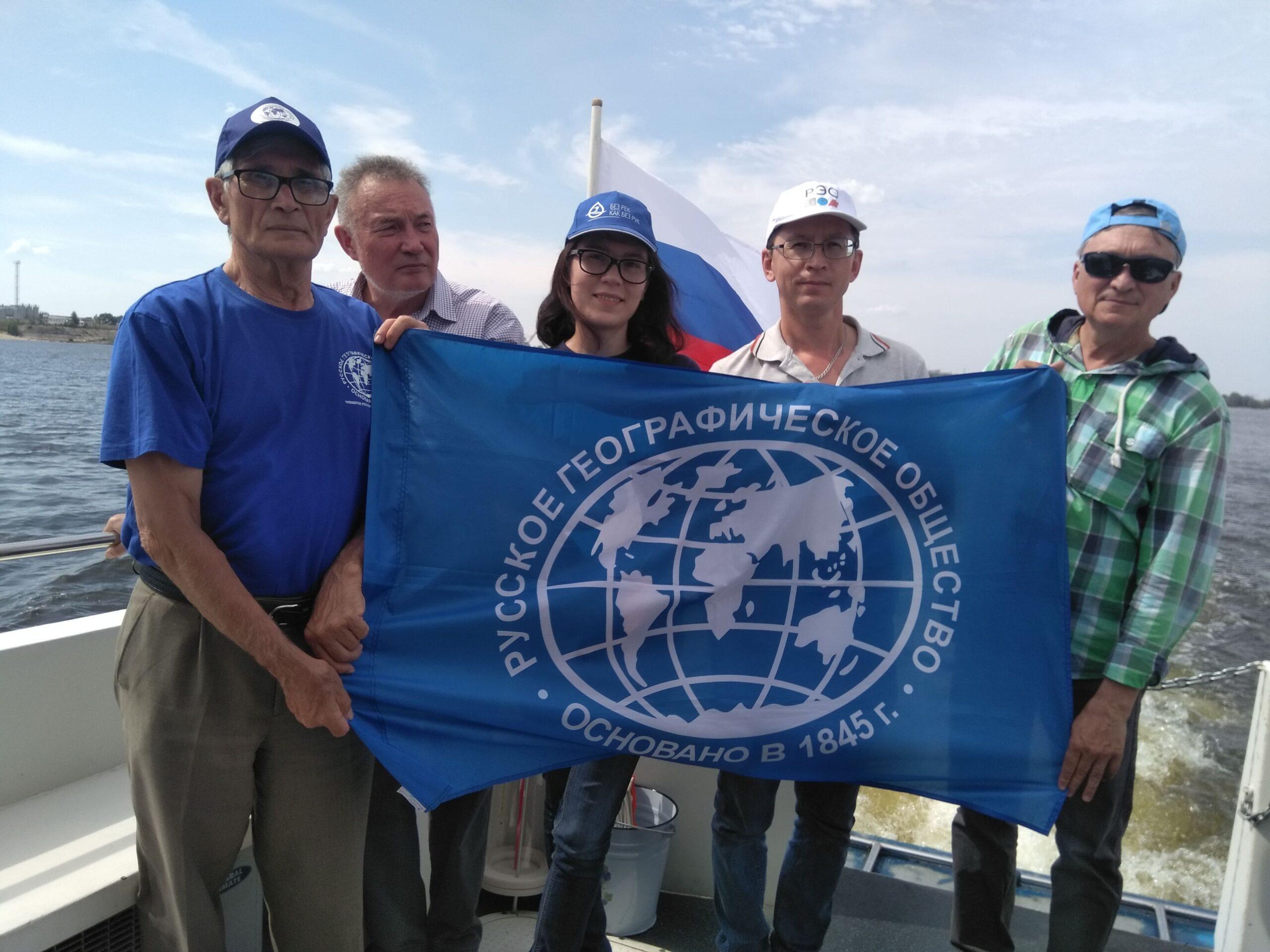 Эксперты Российского экологического общества мониторят качество воды Чувашского водохранилища