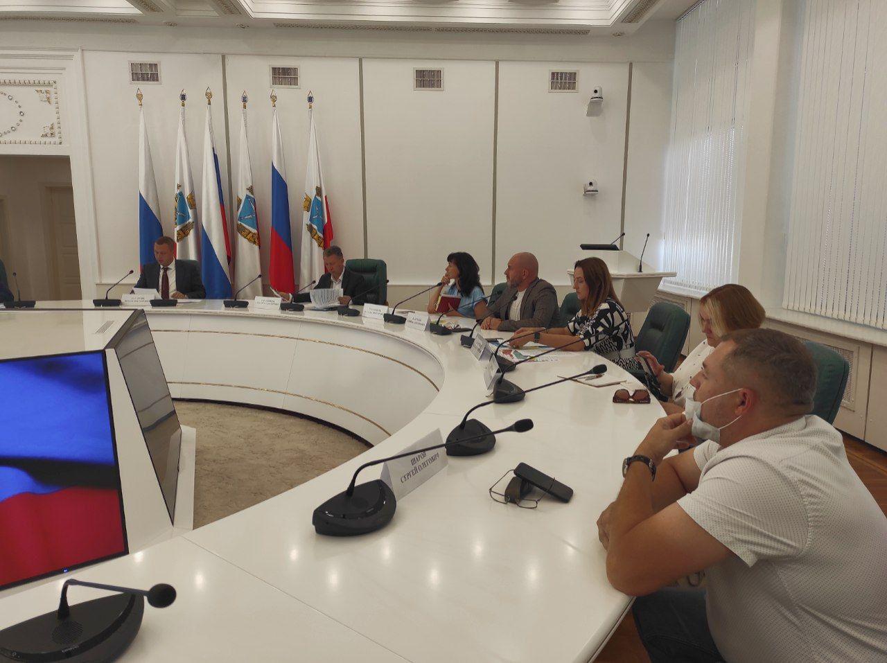 В Саратове прошло заседание рабочей группы по вопросам экологического оздоровления области