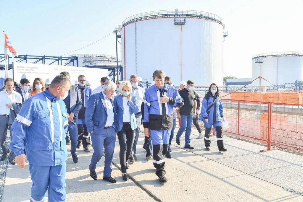Реализация Нацпроекта «Экология» в Омске в фокусе внимания вице-премьера Виктории Абрамченко