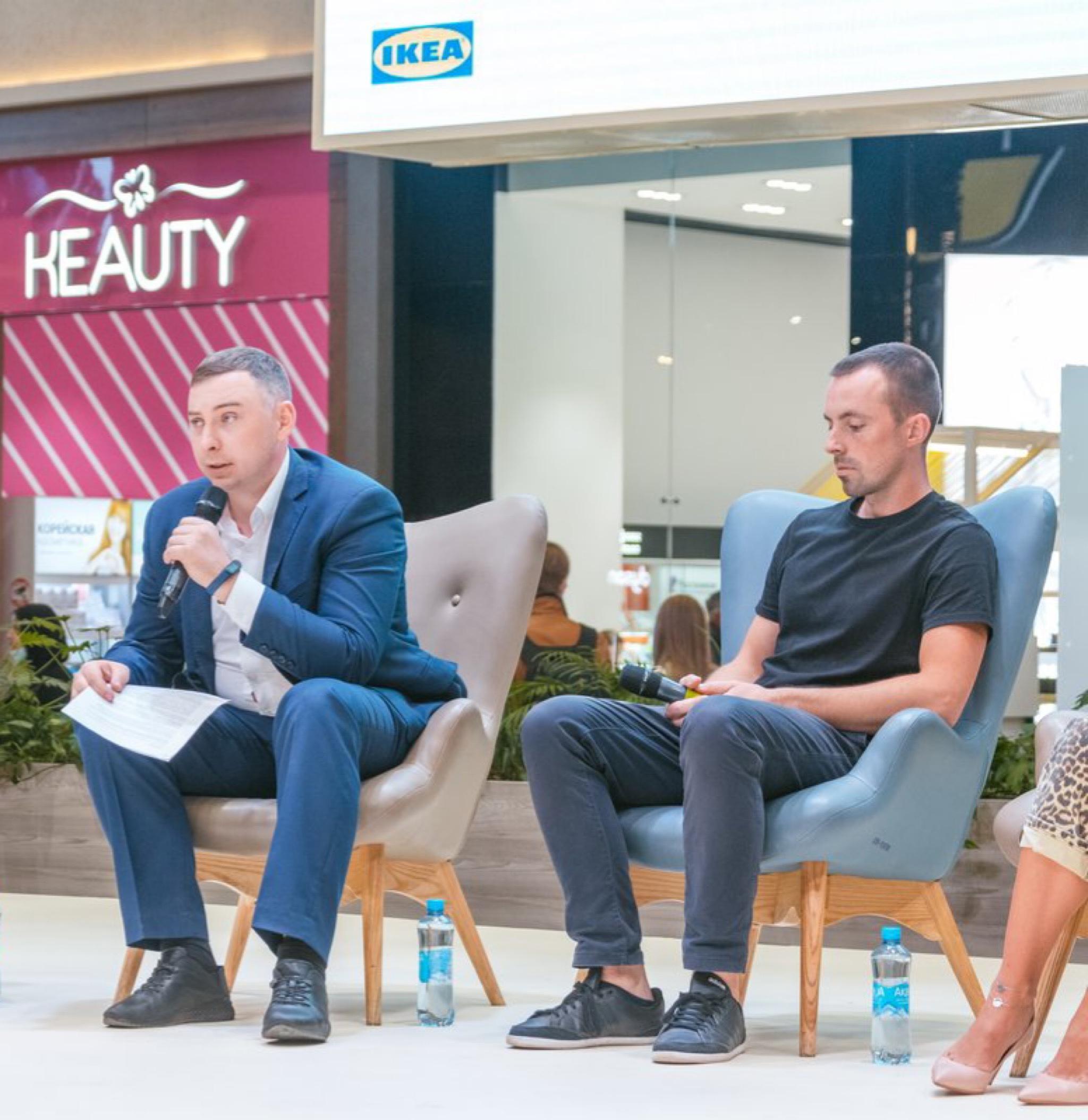Антон Черноголов выступил на Sustainability meetup в ТРЦ Мега Екатеринбург