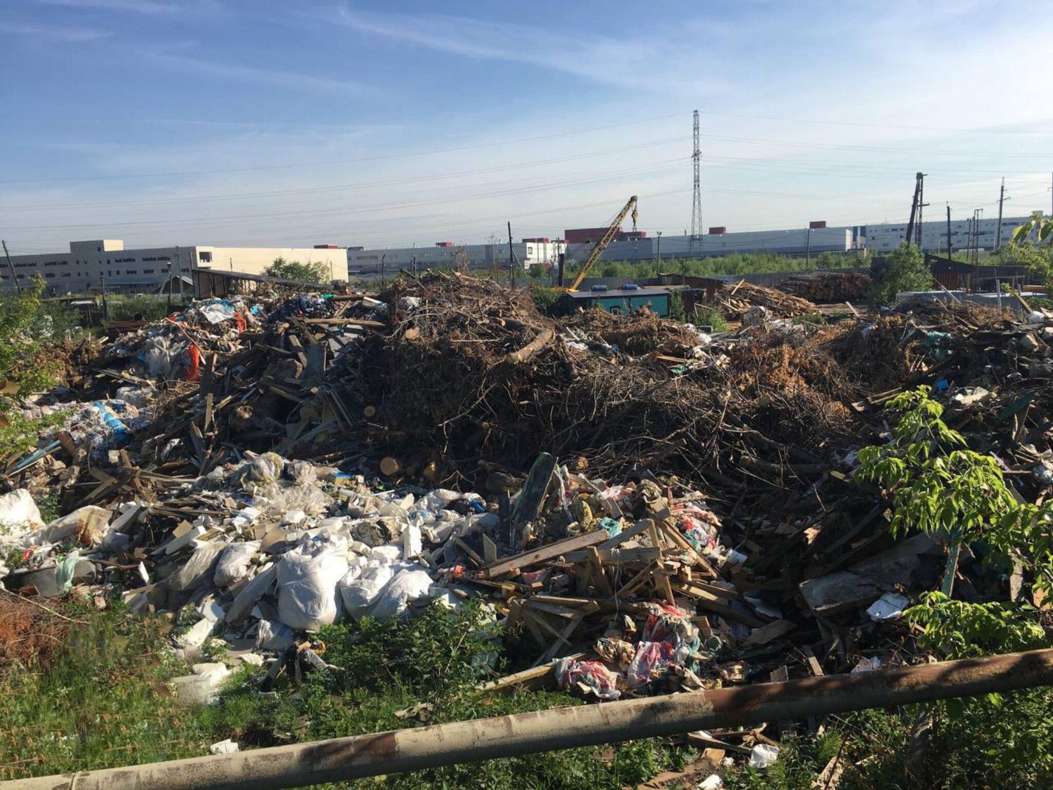 Свалку мусора ликвидировали благодаря обращению активистов Свердловского отделения Российского экологического общества