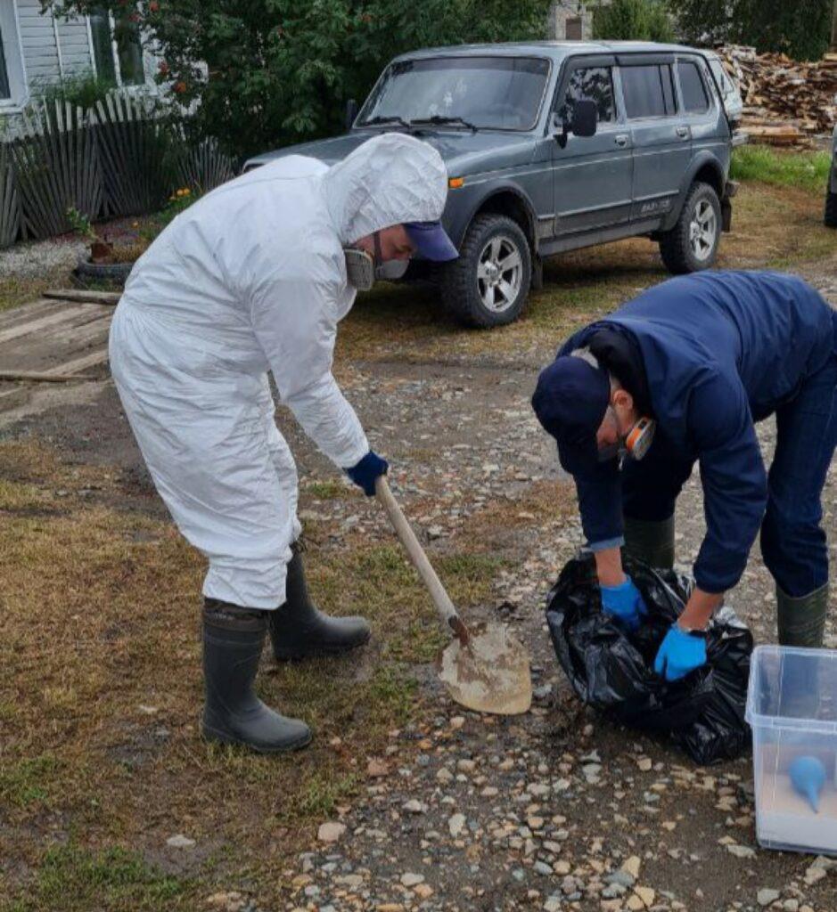 В Ирбите активисты обезвредили место разлива ртути