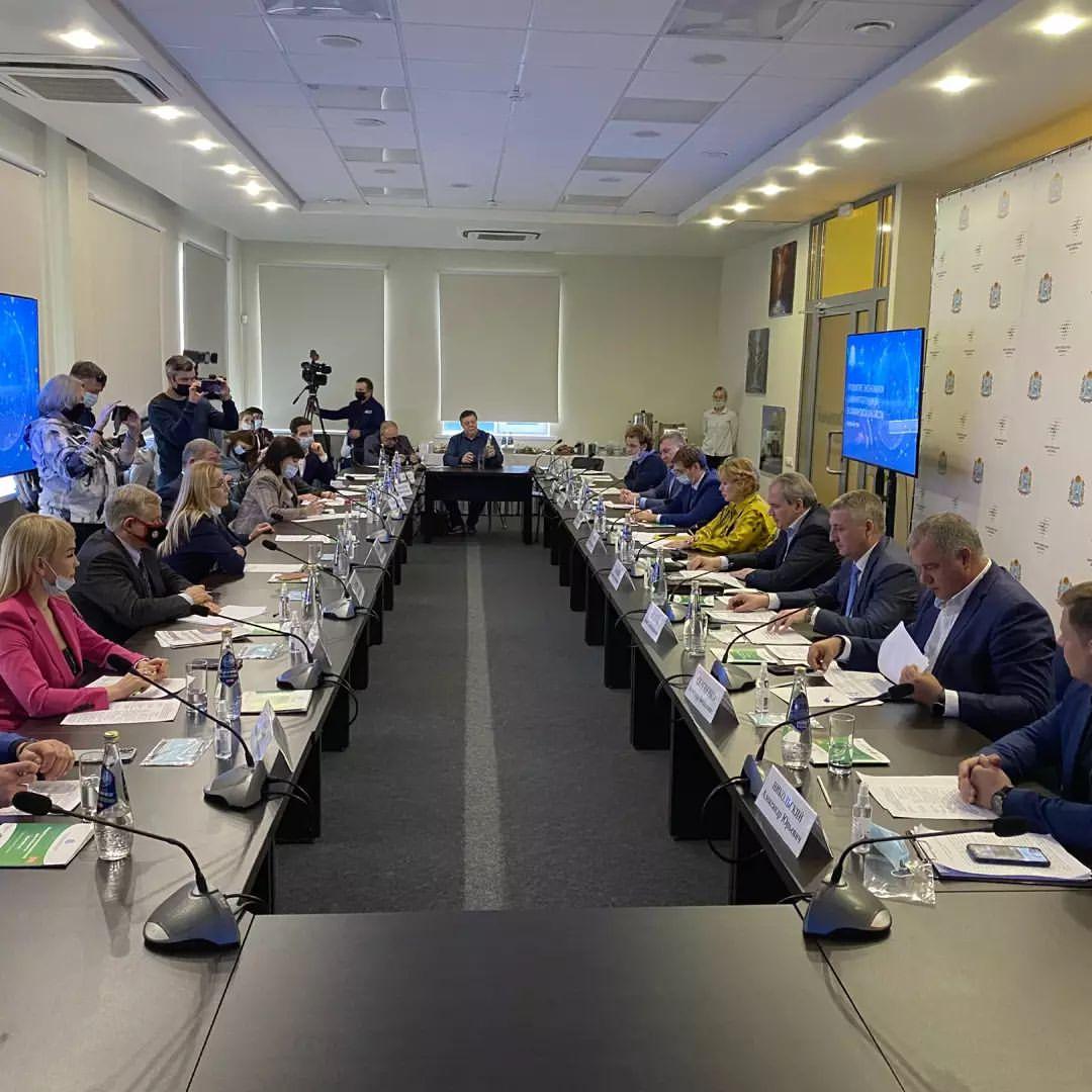В Самарской области обсудили тему формирования экономики замкнутого цикла