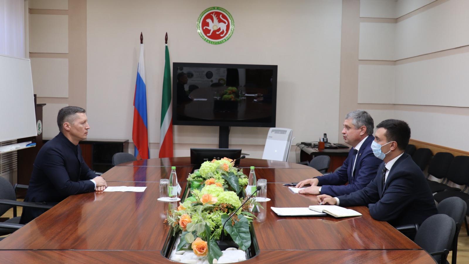 В Минэкологии РТ состоялась встреча с руководителем Татарстанского отделения Российского экологического общества