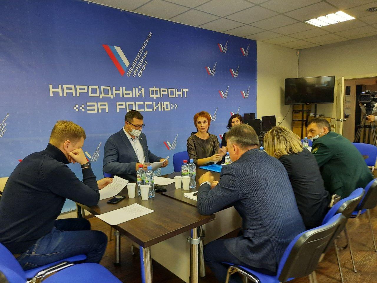 Руководитель реготделения Роман Сергеечев принял участие в совещании по теме загрязнения курганских лесов